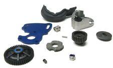 1/16 E-revo SPUR GEAR Set, MOTOR MOUNT 50t, pinion, plate Traxxas 71076-3