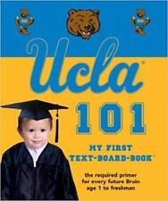 UCLA 101: My First Text Board Book for Baby Kids Youth and Children (NEW)