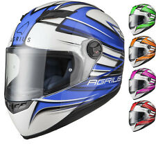 Agrius Rage Charger Motorcycle Helmet Full Face Scooter Motorbike Crash Bike Lid