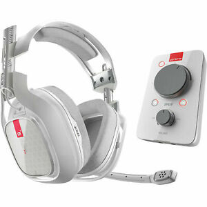 ASTRO A40TR Gaming Headset & MixAmp Pro TR Headset for XBOX1/PC -White