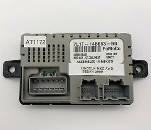 OEM 06-12 Lincoln MKZ MKX Heated Cooled Seat Temperature Control Module Unit