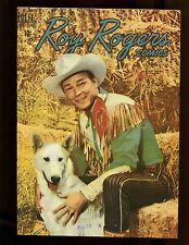Roy Rogers Comics #32 (Canadian Edition) VF+ Photo Cover