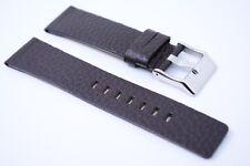 Herren Uhrenarmband Echtleder 22 mm Dunkel braun für DIESEL Uhren DZ 7309 7317