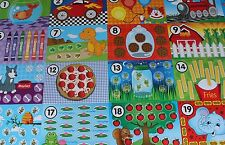 Counting Mats for Modelling Compound, Dough, Slime -Play Toy Doh  Math Preschool