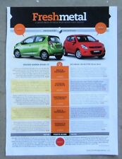 HOLDEN BARINA SPARK vs HYUNDAI i20 ACTIVE Car Auto Magazine Page Article Review