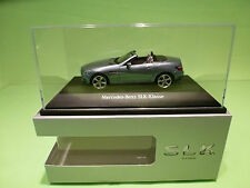 SCHUCO   1:43 MERCEDES BENZ SLK   - GOOD CONDITION IN BOX - DEALER EDITION.