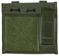 British Army MLCE Molle Admin ID Patch Olive Green NEW