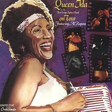 The Queen Ida and the Bon Temps Zydeco Band on Tour (CD, 1990, Crescendo)