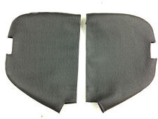 Harley Lower Fairing Covers Ostrich -  Elephant Ears w/ foot peg cut outs