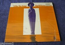 The Williams Singers 1972 Checker LP It Was You Jesus  Oliver Sain shrink wrap
