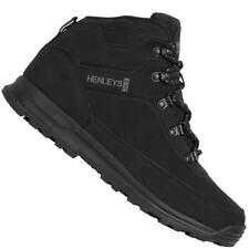 HENLEYS Travis Boots Herren Stiefel Outdoor Schuhe HTG00418 black neu