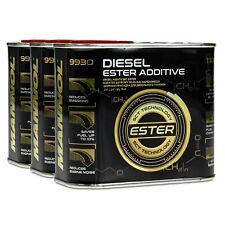 MANNOL 9930 Diesel Ester Additive Verschleißschutz-Additiv, 3x500ml