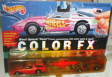1993 Hot Wheels Color FX Race Cars Camaro Racer & GT Racer Malaysia 4+ Diecast