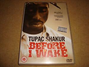 TUPAC SHAKUR - Before I Wake (DVD) 2PAC