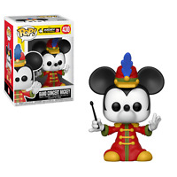 FUNKO POP DISNEY MICKEY MOUSE 90TH BAND CONCERT MICKEY 4 INCH VINYL FIGURE NEW