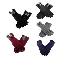 Thermal Lined Fleece Gloves Womens Winter Warm Ski Driving Touch Screen Gloves