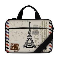 "Luxburg® 17"" Luxury Design Laptop Canvas Bag with Shoulder Strap & Handle #BO"