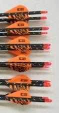 Gold Tip Pro Hunter 5575/400 Carbon Arrows w/Blazer Vanes 1 Dz