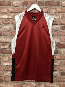 Nike Jordan Basketball Jersey Red Size S/M - Immaculate