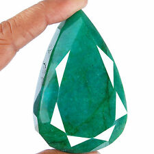 799 Cts Natural Emerald Rare Huge Museum Size Top Green Certified Gemstone
