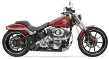 Bassani Manufacturing Radial Sweepers Exhaust Black W/Chrome (1SD2F)