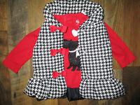 Kids Headquarters 2Pc. Set Puffer Vest & Long Sleeve Top Infant Girls 12 Months