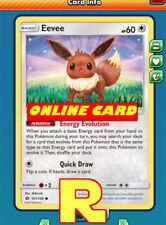 4x Eevee (Evolution) - for Pokemon TCG Online ( DIGITAL ptcgo in Game Card)