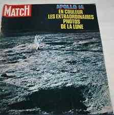 PARIS MATCH 1138 Apollo 14 Guiot Romy Schneider Ferrari Tomasini Lenègre