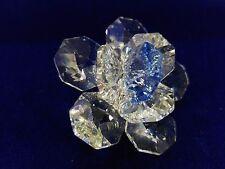 Spilla a fiore in cristallo - VINTAGE
