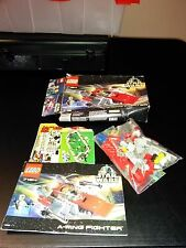 LEGO Star Wars A-Wing Fighter   7134   Mostly Complete