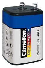 4R25 Super Heavy Duty 6V Blockbatterie Zink-Kohle 6 Volt 8,5Ah blau Camelion