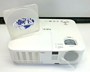 NEC NP-V260 DLP PROJECTOR 3481 LAMP HOURS