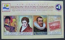 ST. VINCENT 2009 Hudson Fulton Champlain Philatelie 6690-6693 ** MNH