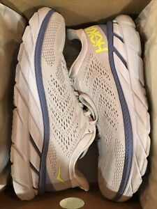 Hoka One One Womens Clifton 7 Gray Running Shoes Size 8.5