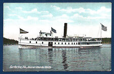 Steamer SIEUR DE MONTS of Bar Harbor, Maine