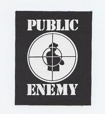 Public Enemy Rap Hip Hop Punk Boogie Down Blm Canvas Patch Nwa Fear Black Planet