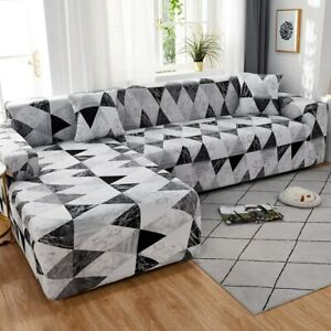 Sofa Cover Slipcovers Elastic All-inclusive Couch Case for Sofa Chair L-Style
