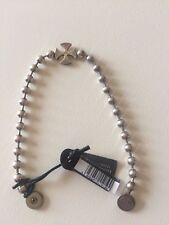 Bracciale NUOVO Rebecca UOMO ref.suobav24 in argento con croce dei templari arg