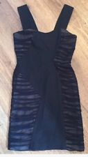 REISS Little Black Bodycon Dress  ~ Size UK 8