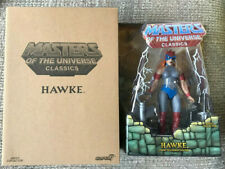 MOTUC HAWKE MASTERS OF THE UNIVERSE CLASSICS NEW SEALED HE-MAN
