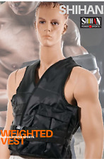 SHIHAN Weighted Vest Running Fitness Training Jacket Adjustable