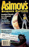 Vtg Isaac Asimov's Science Fiction Magazine Sept. 1998 Paul J. McAuley m713
