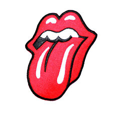 Rolling Stones Red Tongue Heavy Metal Rock collectible Jacket Cap Iron on patch