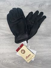 Indian Motorcylce Mens Leather Classic Gloves - Size Large Brand New With Tags