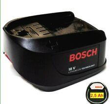 Bosch Akku 18 V Li  . 2,5 Ah  2500 mAh  UNEO MAXX-PSR-PSB-AHS-ART