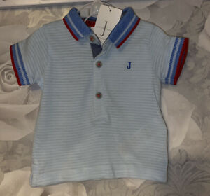 Boys Age 0-3 Months - Junior J Polo Top - BNWTS