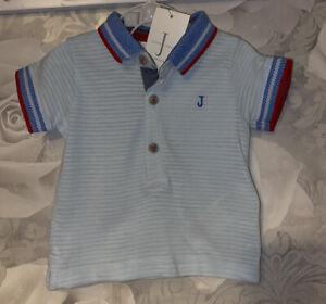 Boys Age 0-3 Months - Junior J Polo Top - BNWTS