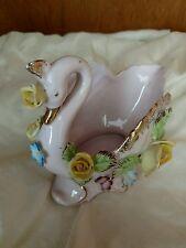 """Vintage swan vase """"Made in Japan"""""""