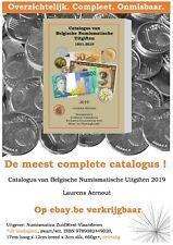 Korting op port: Catalogus van Belgische Numismatische Uitgiften 1831-2019