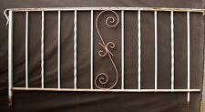 "67""x33"" Vintage Steel Iron Metal Handrail Porch Stair Hand Rail Fence Gate Panel"